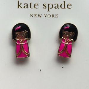 Kate♠️Spade 💕Geisha Girl Earrings